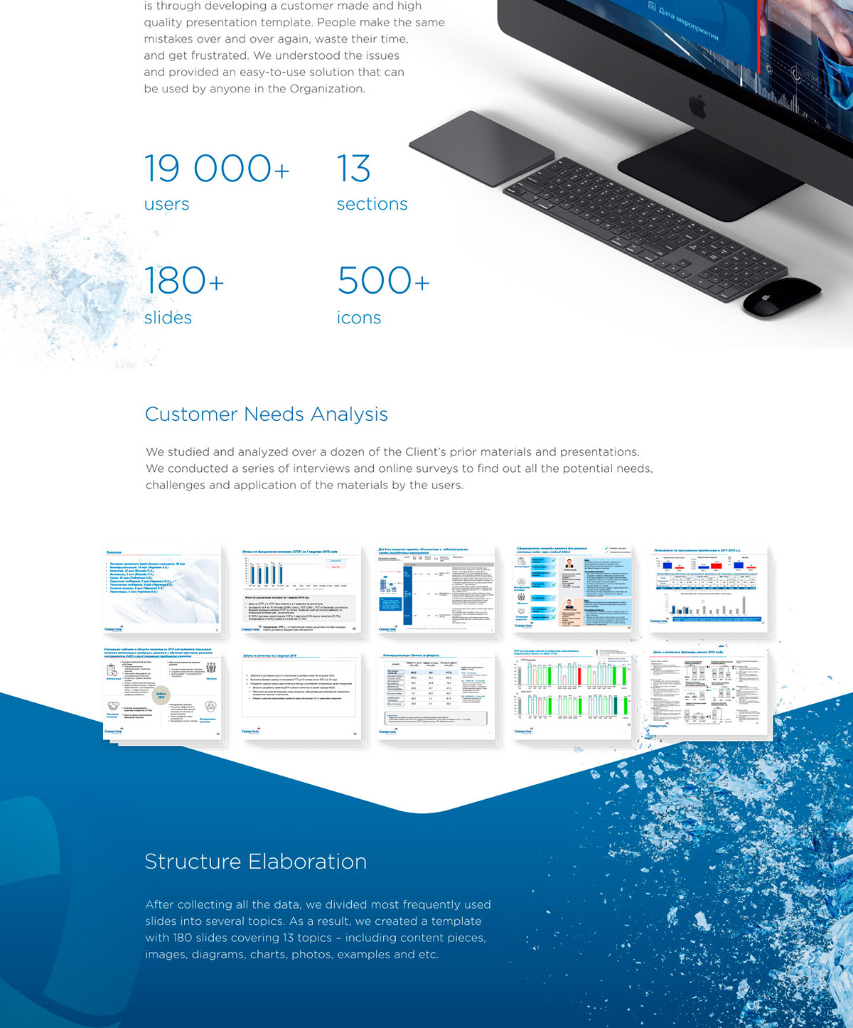 Corporate Presentation Template For Severstal On Aiga Member Gallery