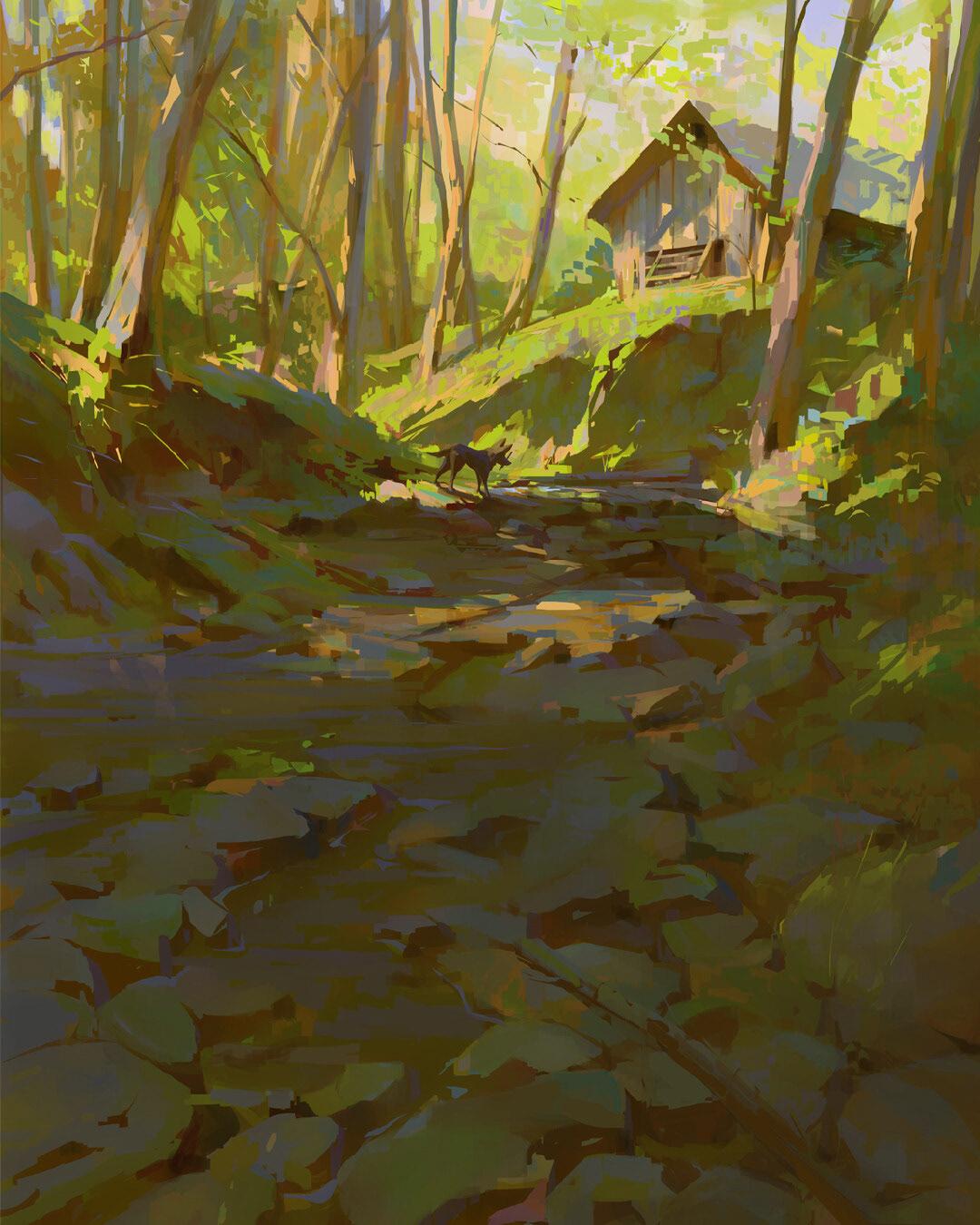 color and light Color Design Environment design environments landscapes Nature Visual Development