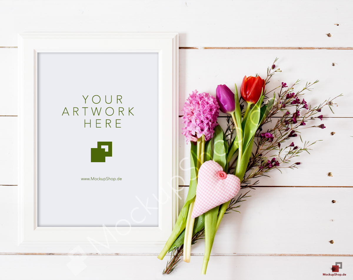 Valentines Day Frame Mockup On Behance