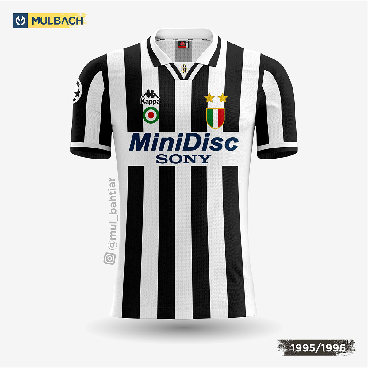 wholesale dealer 326bc 19018 Juventus Kits History on Behance