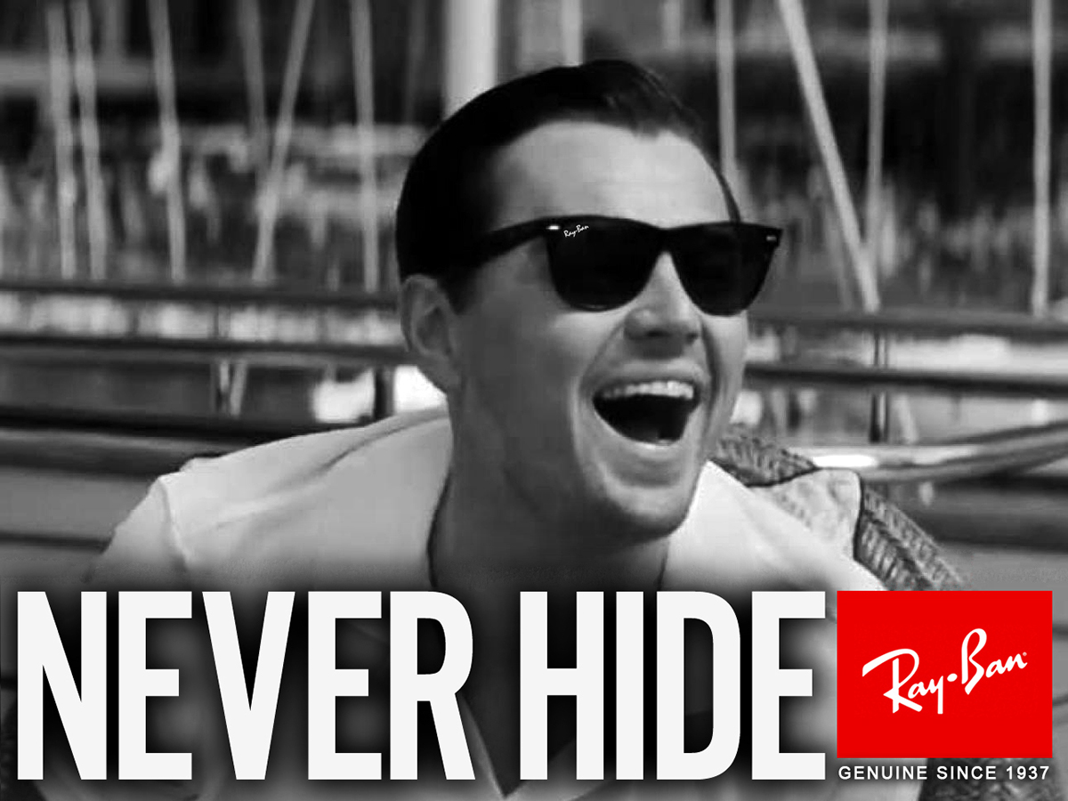 ... black comedy film, The Wolf of Wall Street, which featured multiple Ray- Ban Wayfarer sun-glasses worn by various characters throughout the film.
