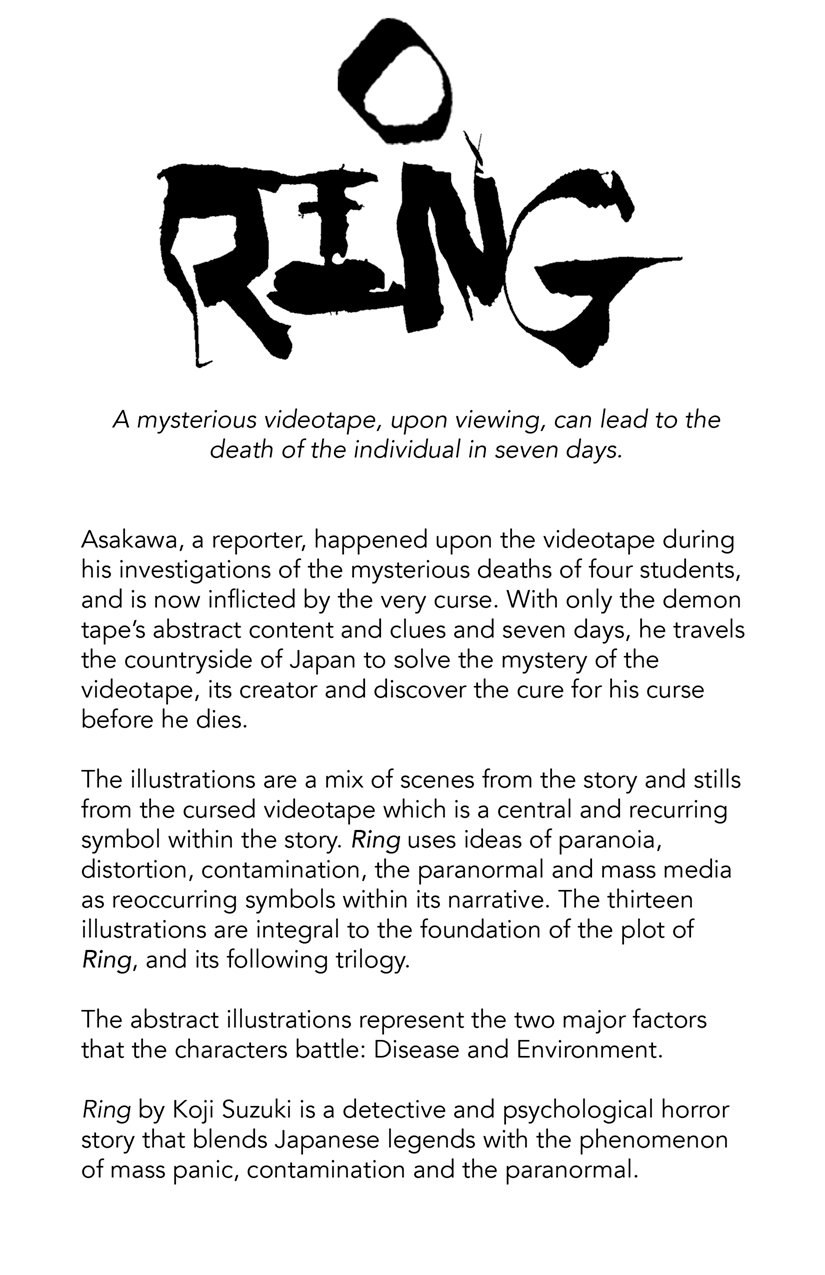 Ring By Koji Suzuki On Behance