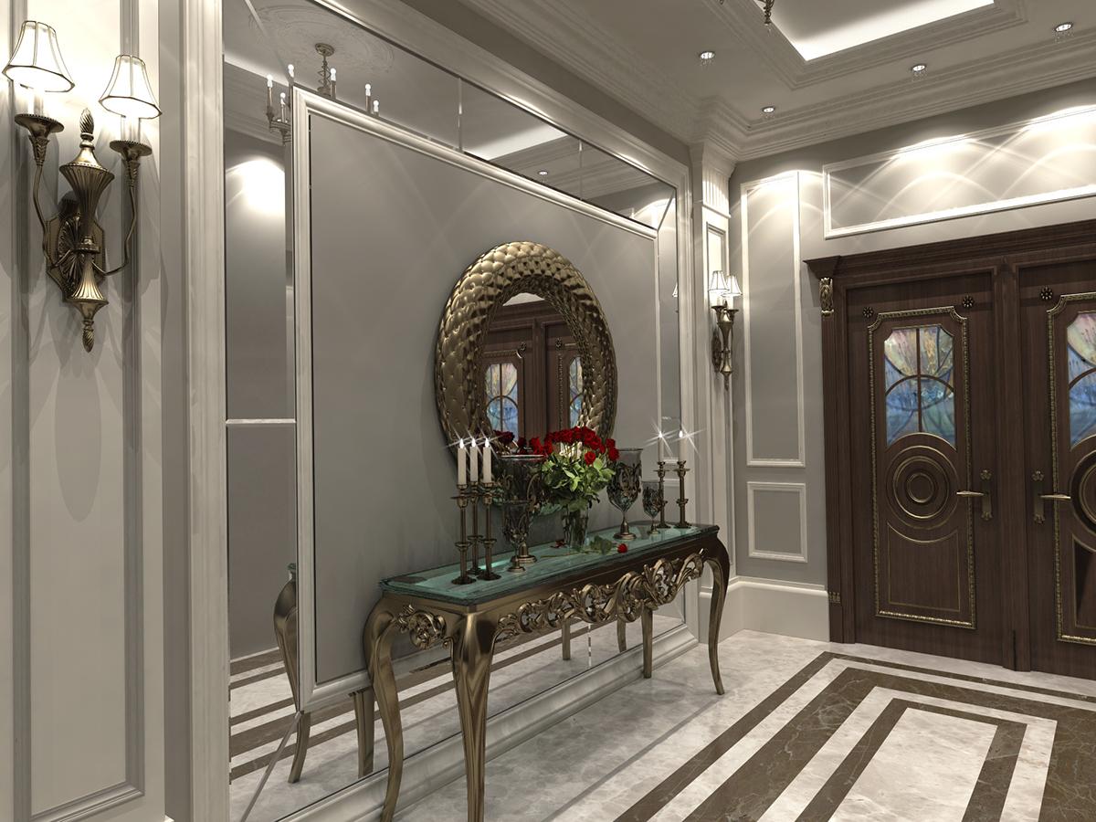 Home Design Entrance Ideas: Abd Elrahman Elkharji Villa ,KSA On Behance