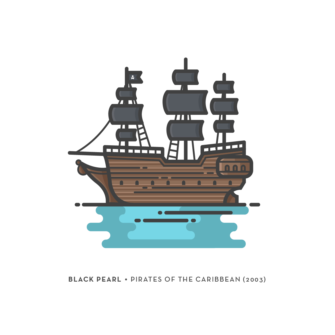 Pirate Ships Illustrations on Behance