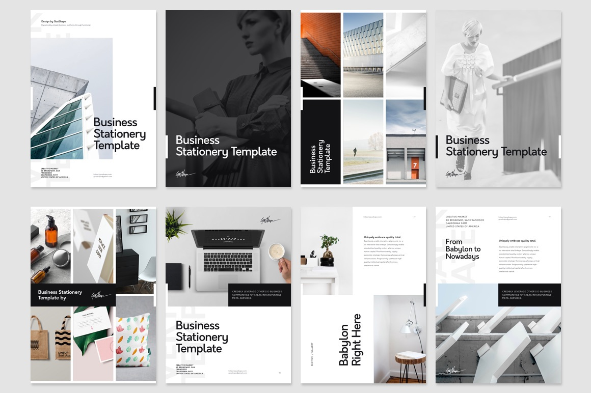 Keynote Vertical Presentation Template On Behance