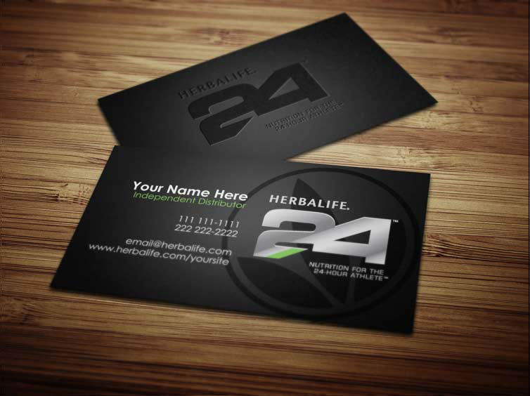 Herbalife business cards on behance wajeb Choice Image