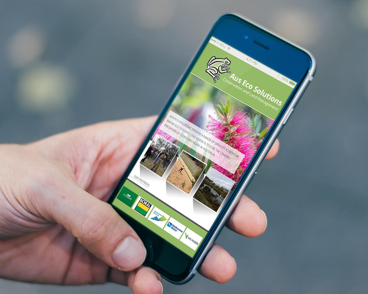 Mobile app user interface ios psd