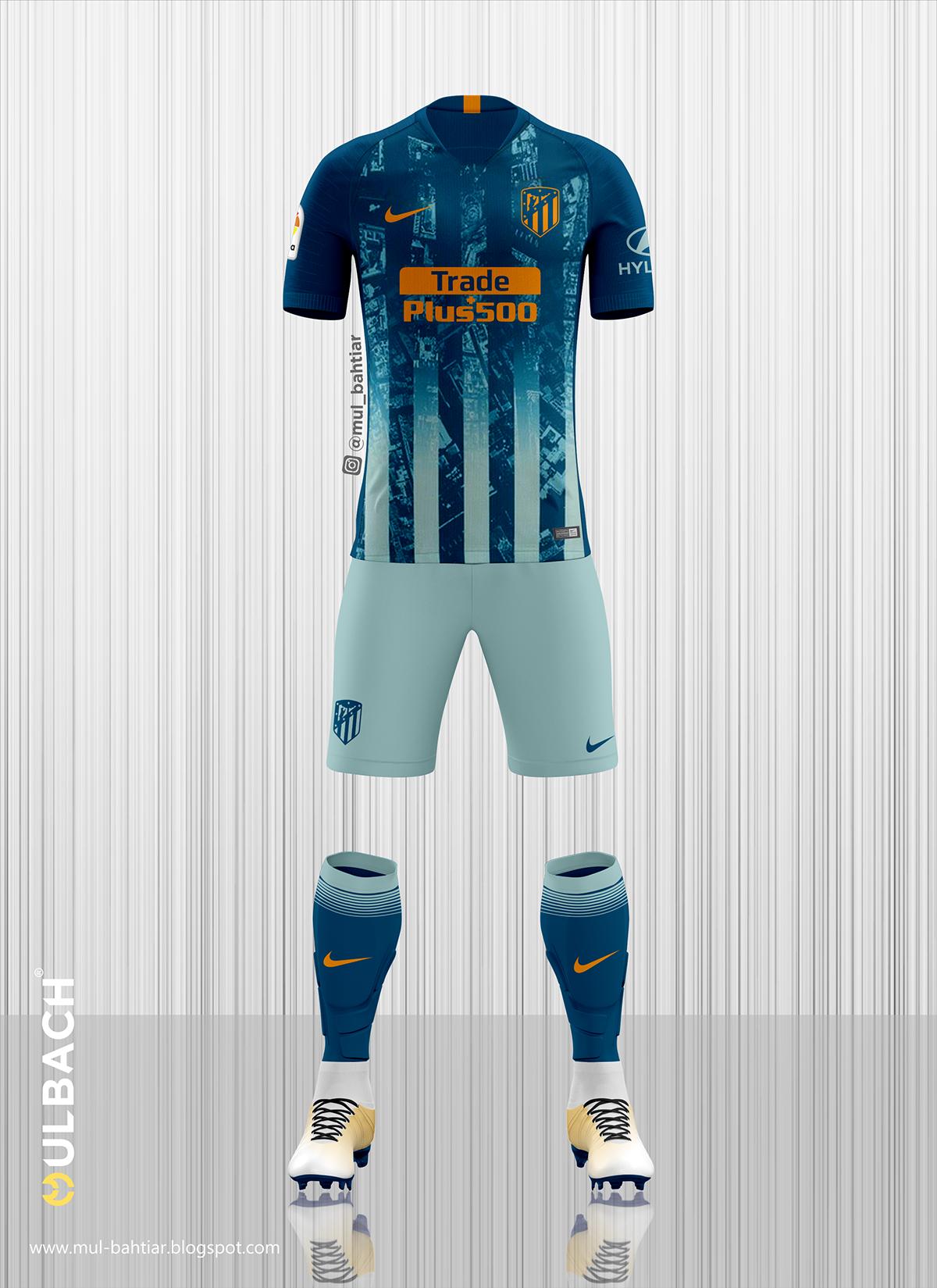 5cedad36f Atletico Madrid 2018 2019 Kit on Behance