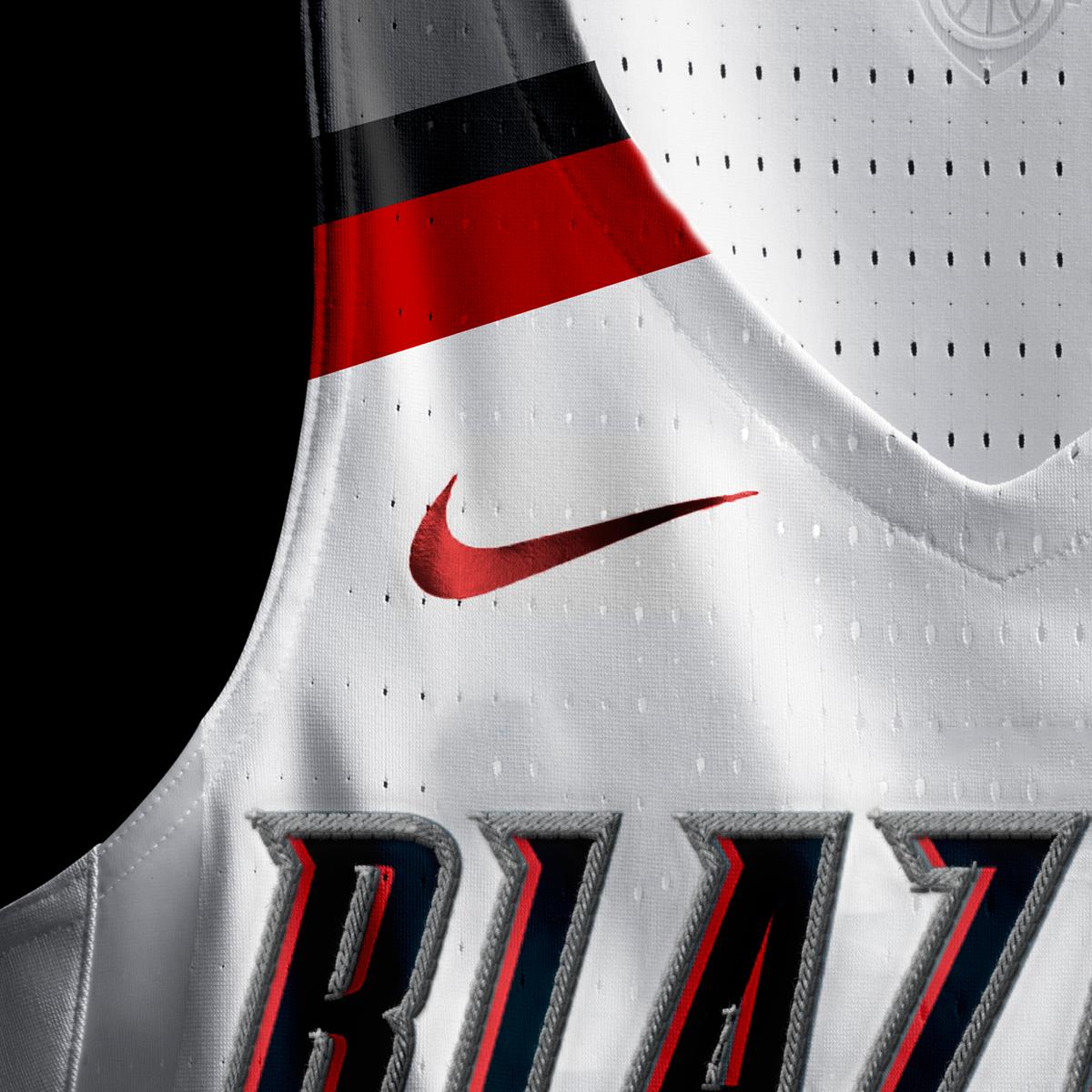 low cost 994c6 91724 Portland Trailblazers 2017-2016 Nike Concept Jersey on Behance