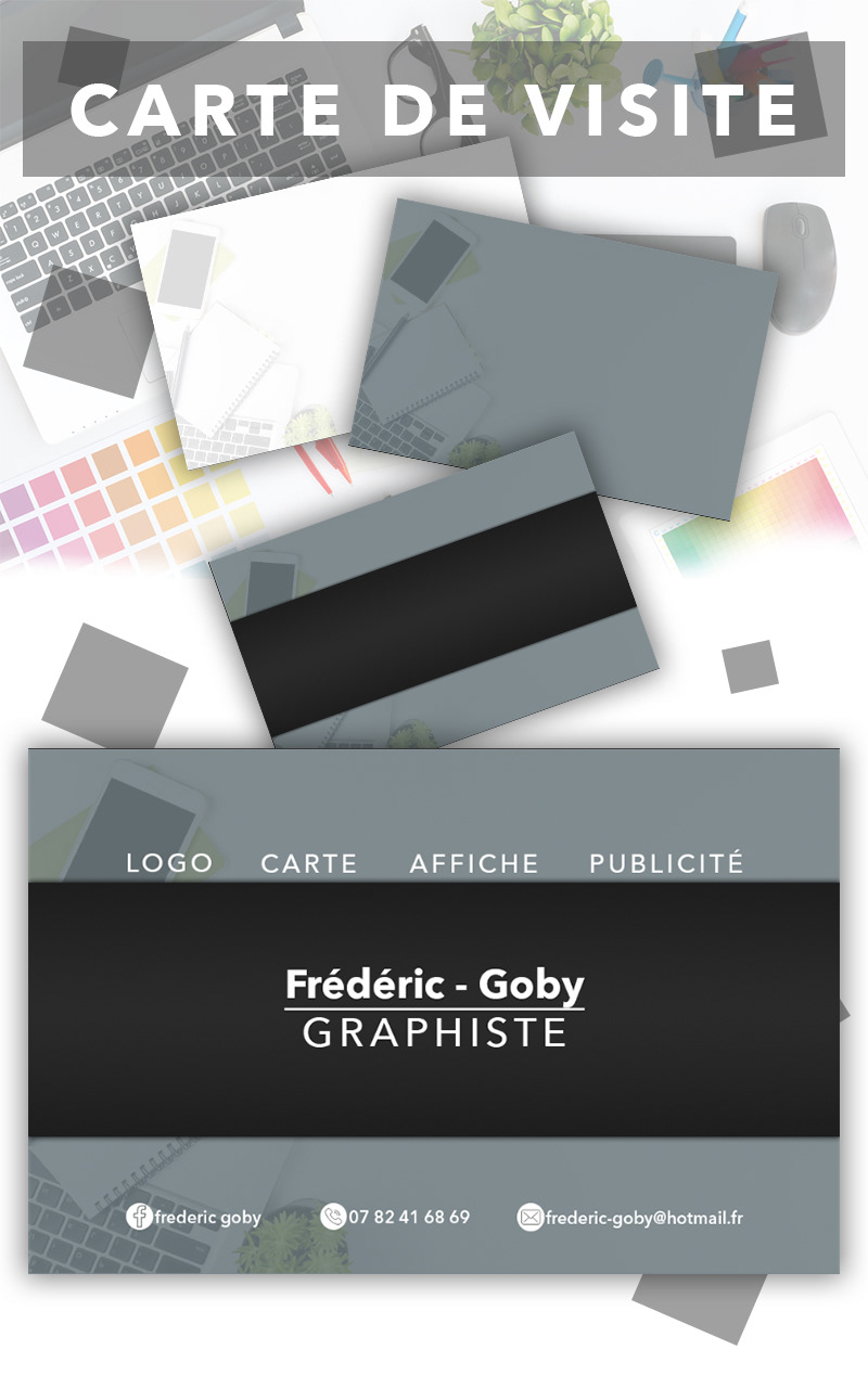 Carte De Visite Frdric Goby On Behance