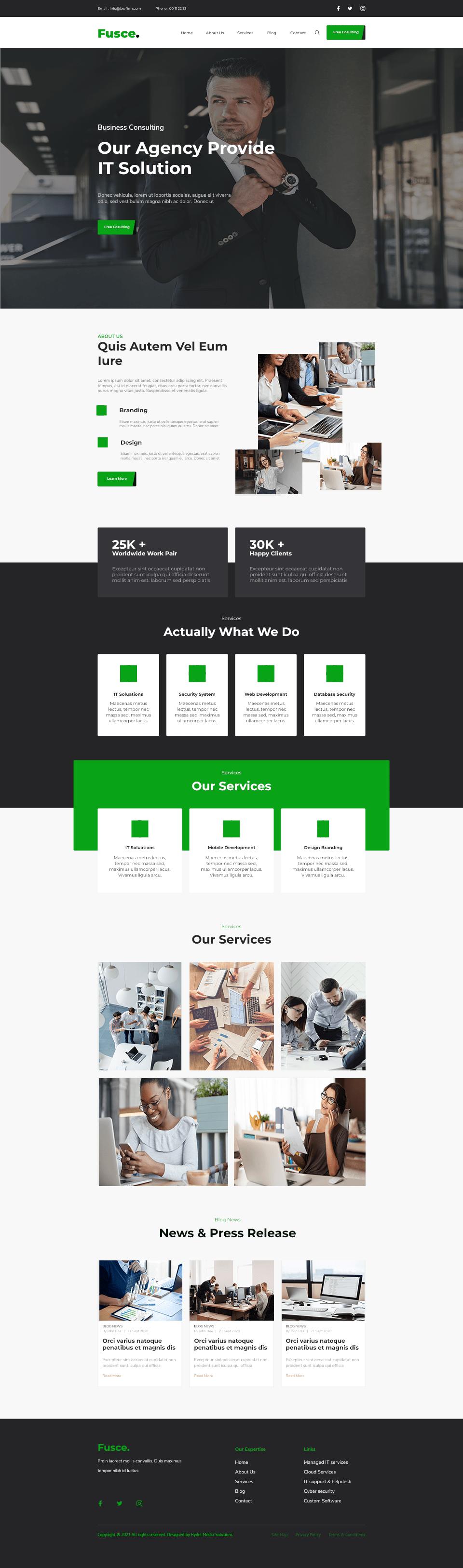 one page website Web Design  Website Design Website Mockup
