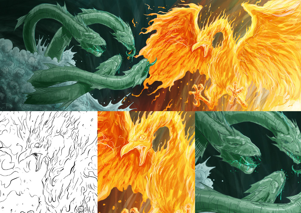 editorial Livro yohke flavio medina Shima fenix fantasia fantasy