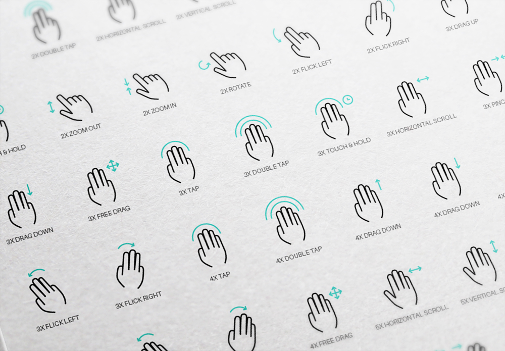 gesture Icon free freebies download devices Interface UI ux vector psd