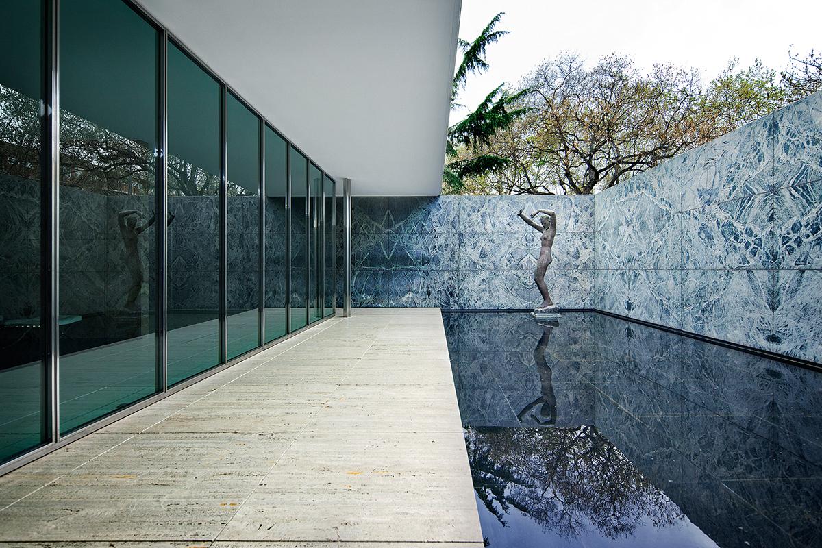 barcelona pavilion on behance. Black Bedroom Furniture Sets. Home Design Ideas