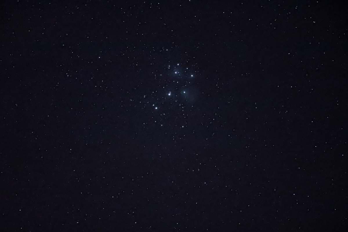 The Pleiades The Seven Sisters,Messier 45 ASTROPHOTOGRAPHY