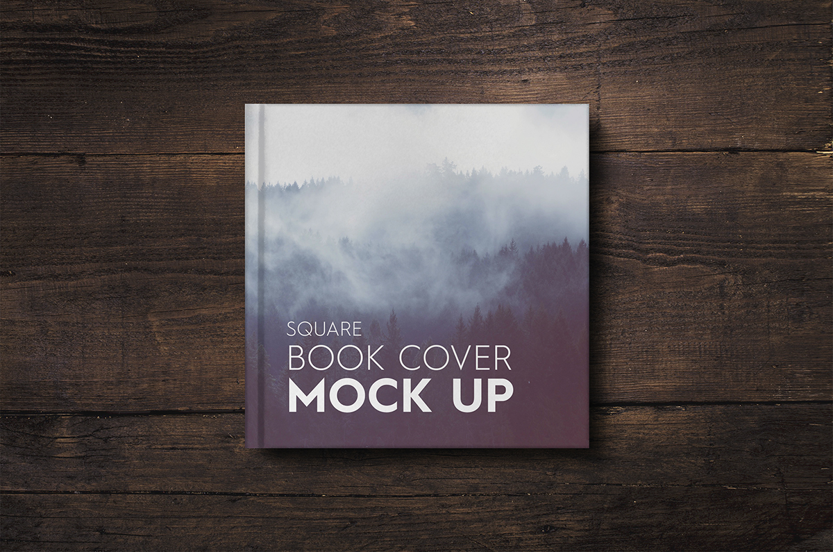 Cook Book Cover Up : Square book cover mock up new price on behance