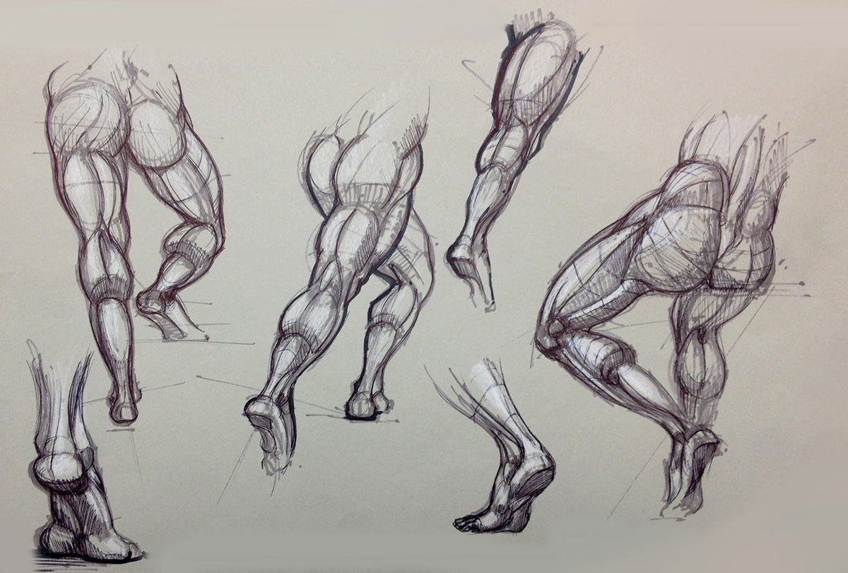 Sketchbook - Figure on Behance