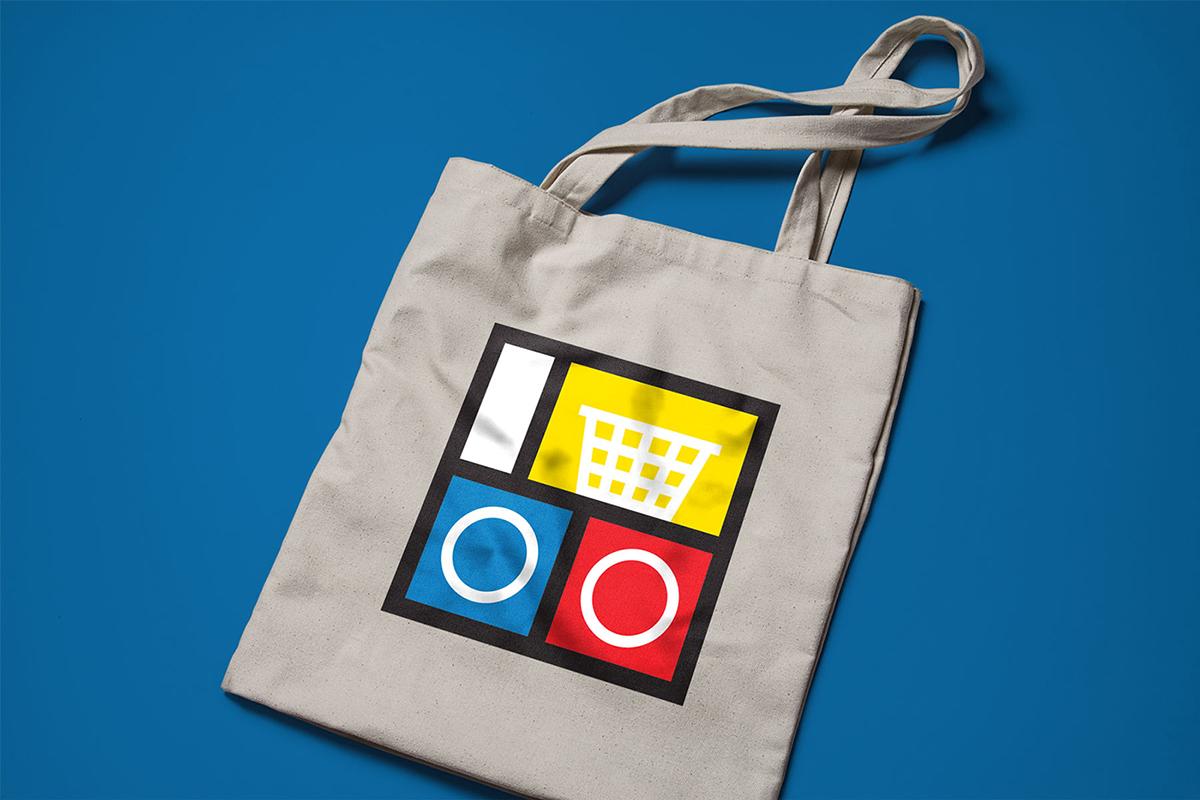 Winnipeg logo symbol identity laundromat mondrian Canada manitoba