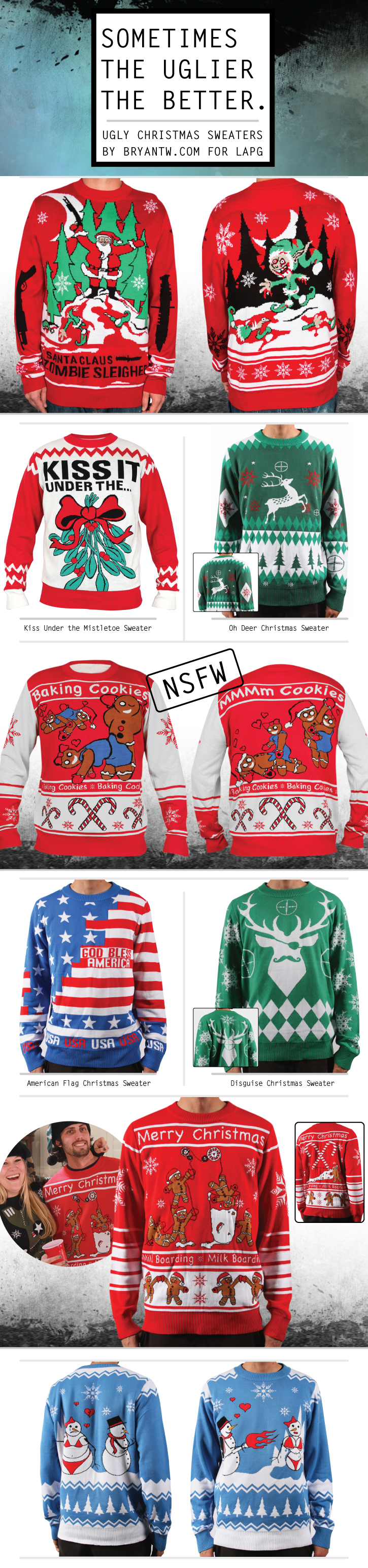 Sometimes The Uglier The Better! Ugly Christmas Sweater on Behance