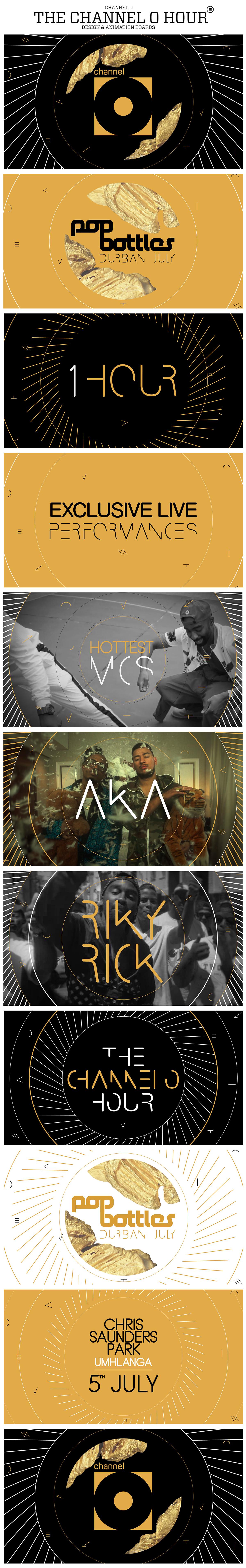 Channel O Ricky Rick AKA party birthmark gold dj hip hop