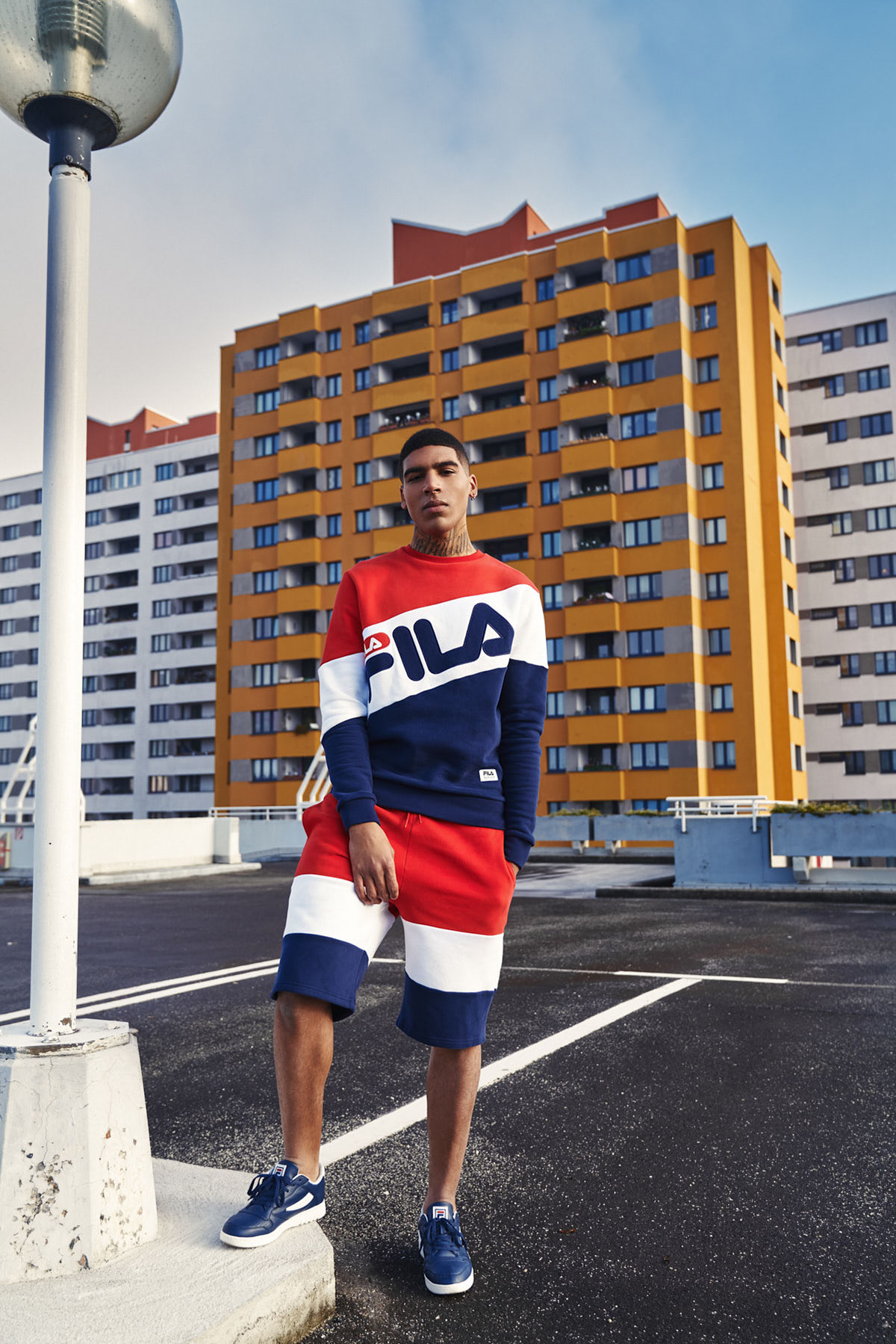 FILA new heritage collection SS2017 campaign on Behance
