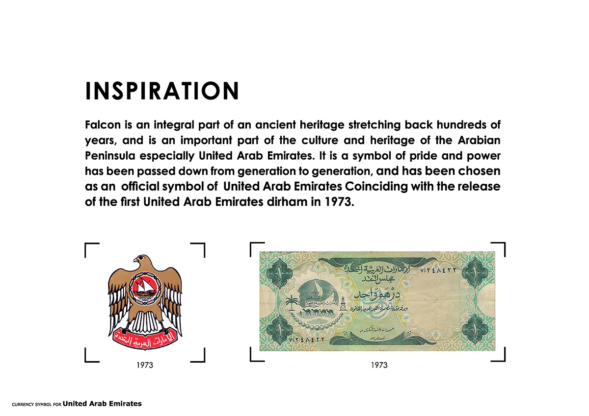 Currency Symbol Of United Arab Emirates On Behance