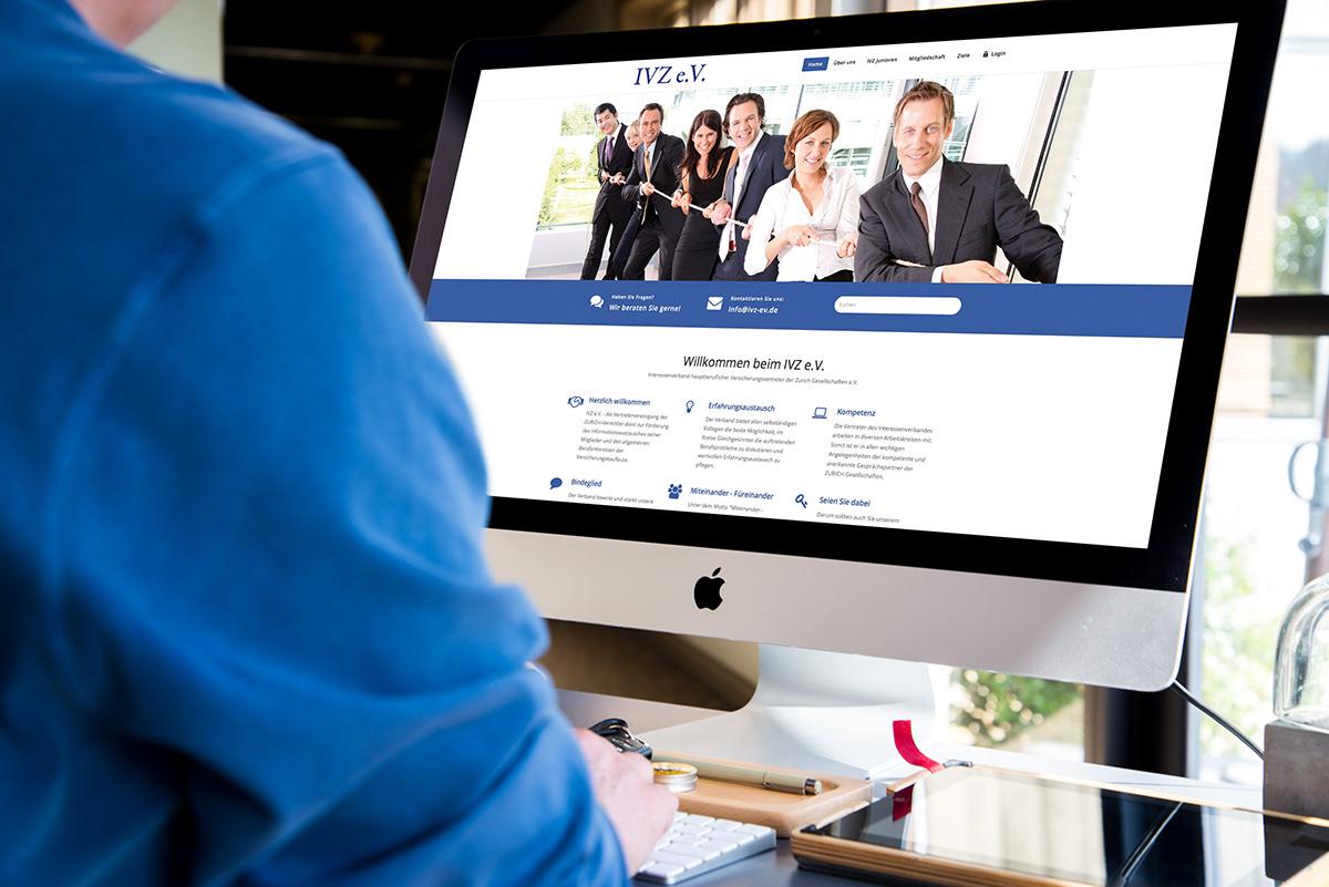 Webdesign Members Management