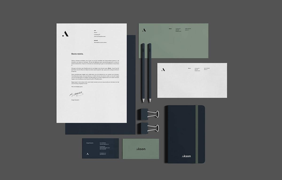 Akson infrastructure Debuco Techniek Kill off the average branding  Webdesign Stuurmen UI/UX graphic design  construction