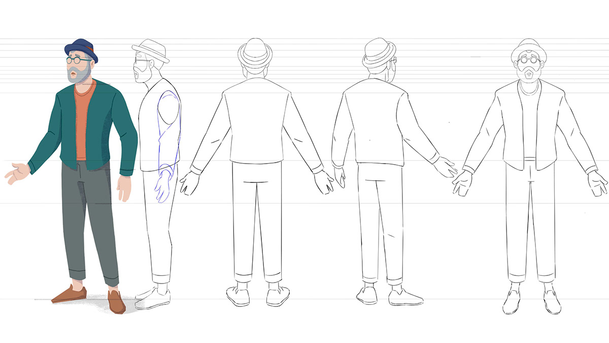 2D Animation,breath,Cel Animation,Character design ,lungs,scenario,Style Frames