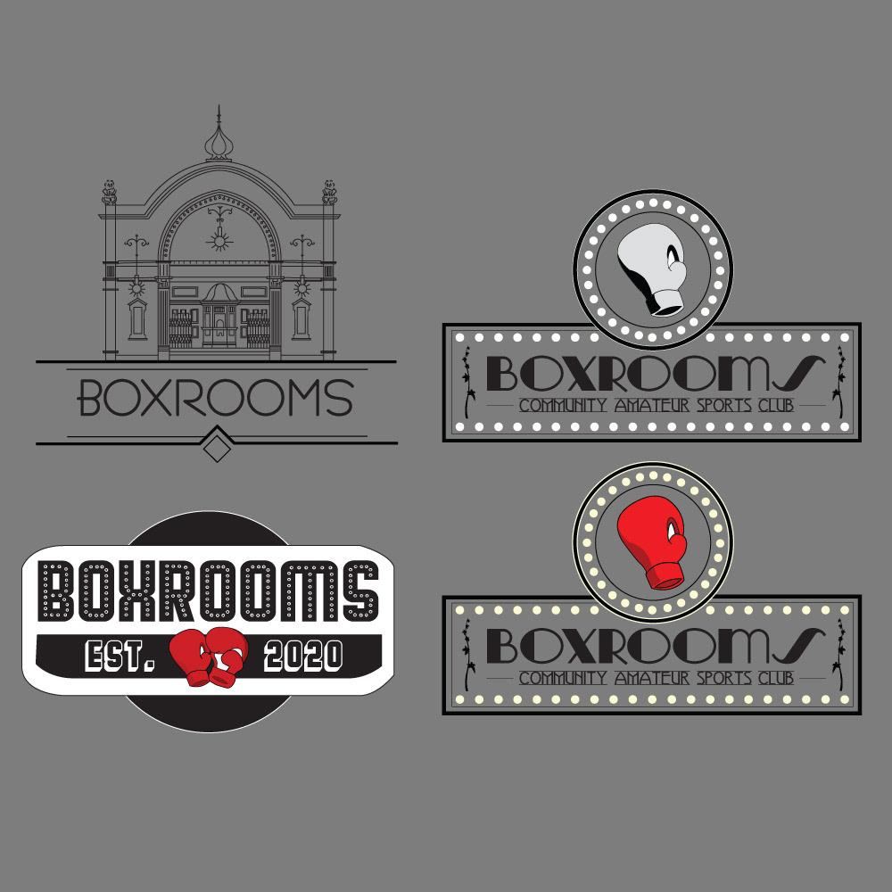Boxing branding  design graphic design  graphics logo sports