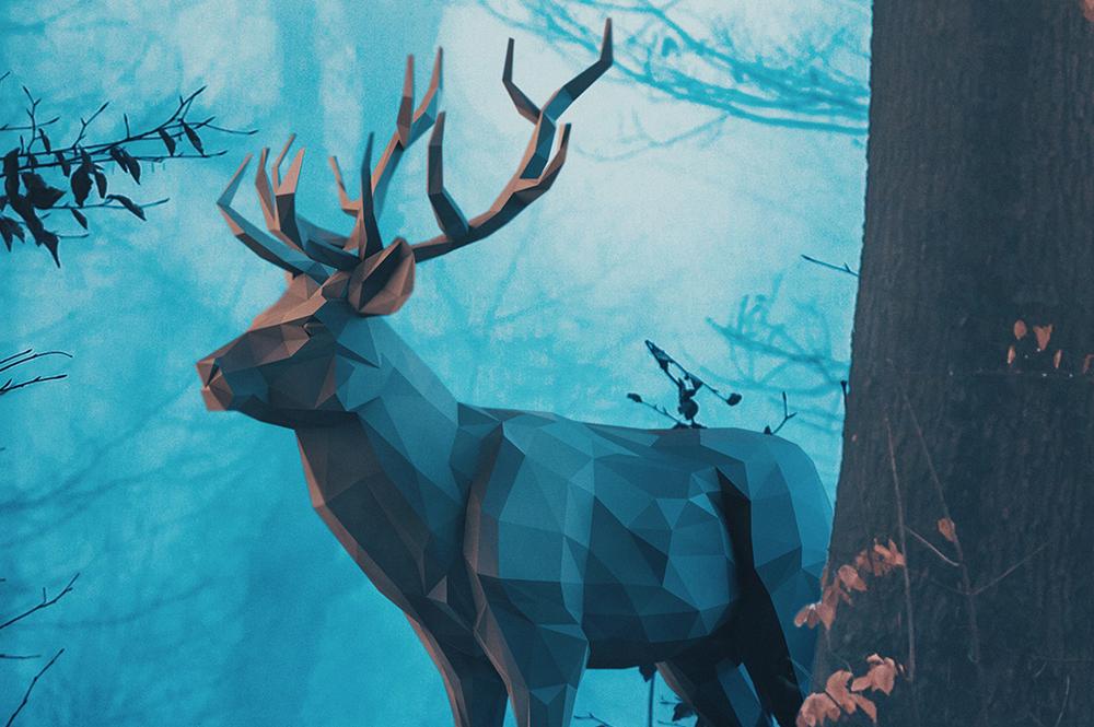 Blue Forest (Animals)