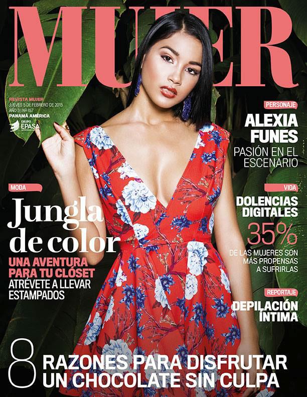 mujer jungla jungle color panama revista magazine fashionable color jungle editorial