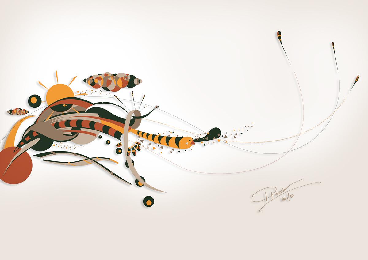 art illustrations ploovia designs textures ink piero salardi Digital Art  Drawing
