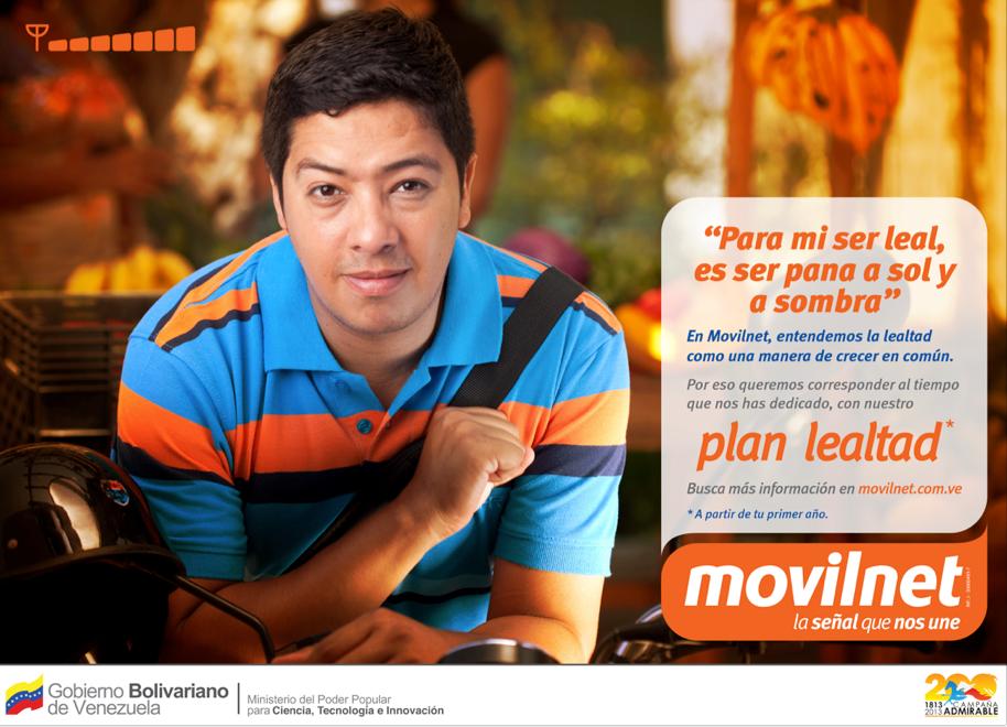 Lealtad Movilnet prints Spot
