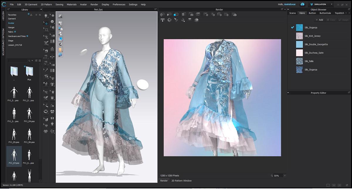 Image may contain: dress, monitor and computer