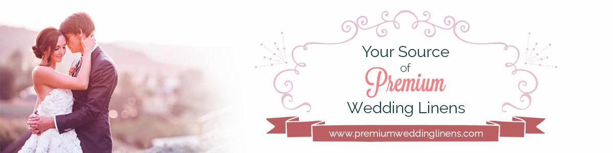 wedding linens inc logo web banner design on behance