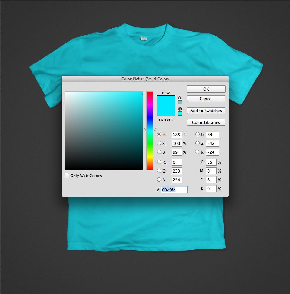 free Mockup t-shirt