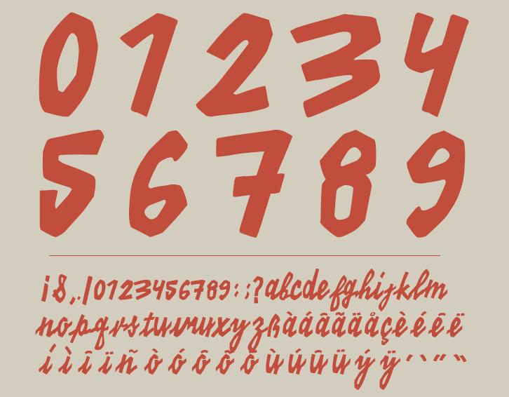 Free font font free kino Cinema vintage orange kino 40 teather Movies munich germany venezuela