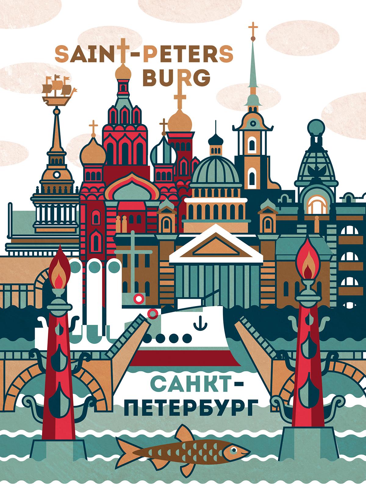 Опт открытки санкт петербург