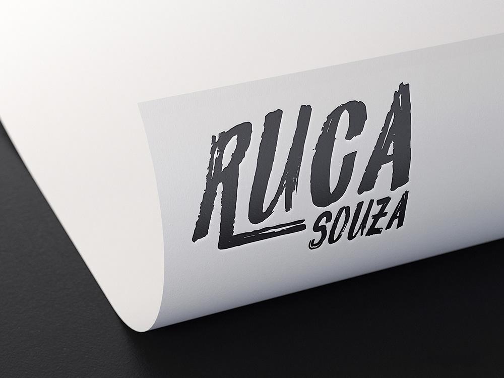 logo Logotipo identidade visual musica ruca souza