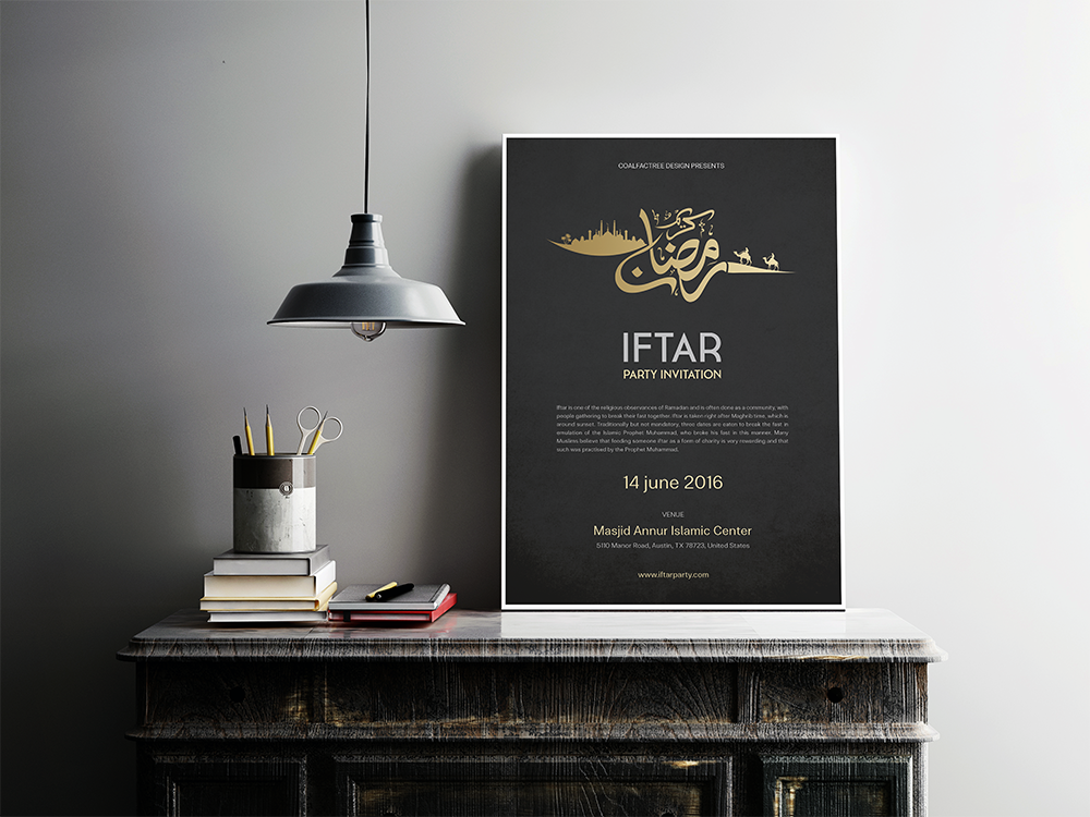 Ramadan kareem iftar poster flyer vol01 on behance beautiful minimal ramadan kareem flyer template for your iftar event party or any ramadan advertisement needsyou can modify every elements easily stopboris Gallery