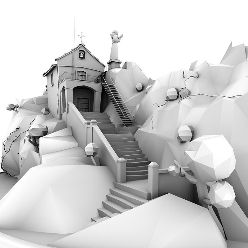 3dmodel cartoon gamedev lowpoly modelado 3d Render Unity 3d