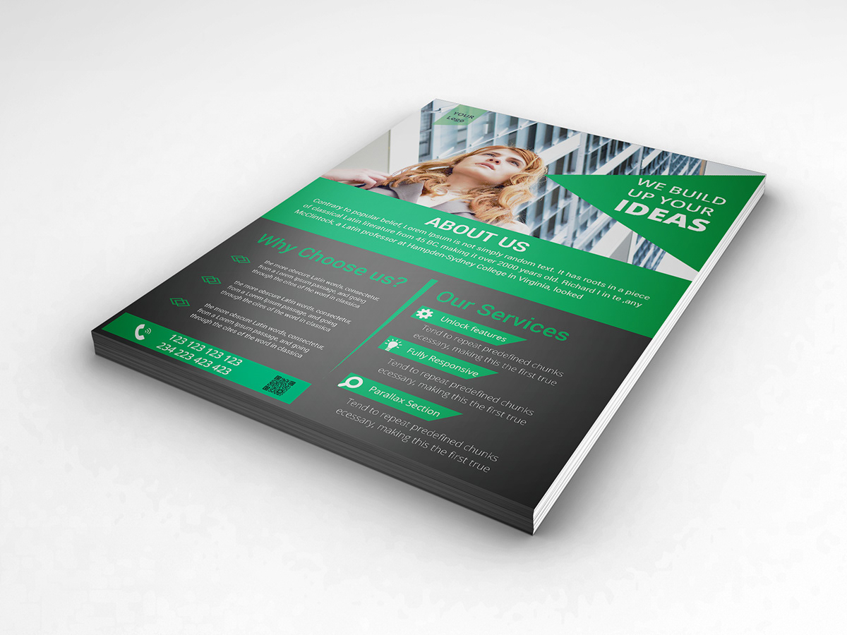 New Business flyer on Student Show