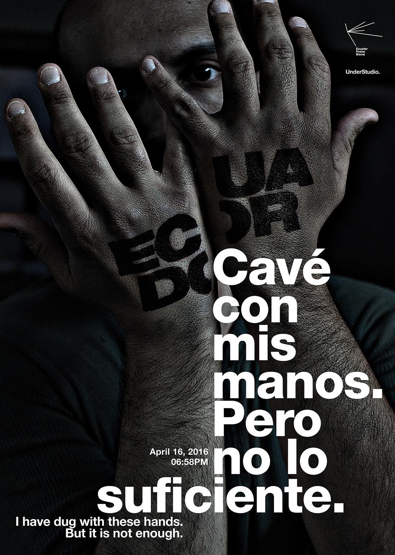 Ecuador Ecuador Poster Bienal design terremoto