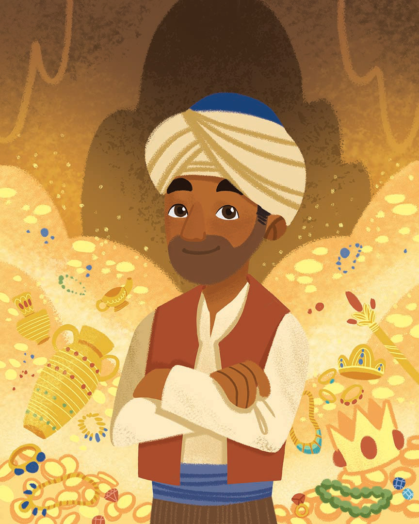 books children Children's Books ILLUSTRATION  Illustrator Picture book textbook hijab islam muslim