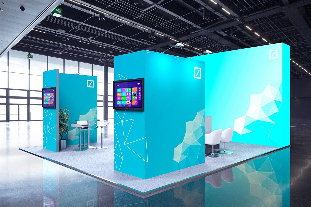 Modular Exhibition Stand Jobs : Deutsche bank modular exhibition stand on behance