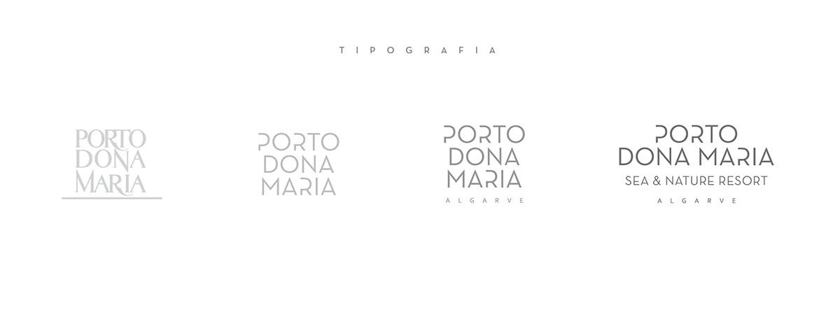 rebranding porto dona maria resort rebranding algarve rebranding portugal design allgarve design