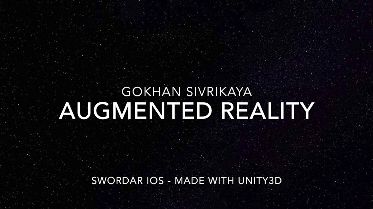 arkit unity Sword augmented augmented reality AR vr AR/VR Virtual reality