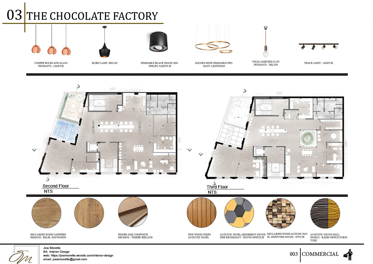 The Chocolate Factory On Behance