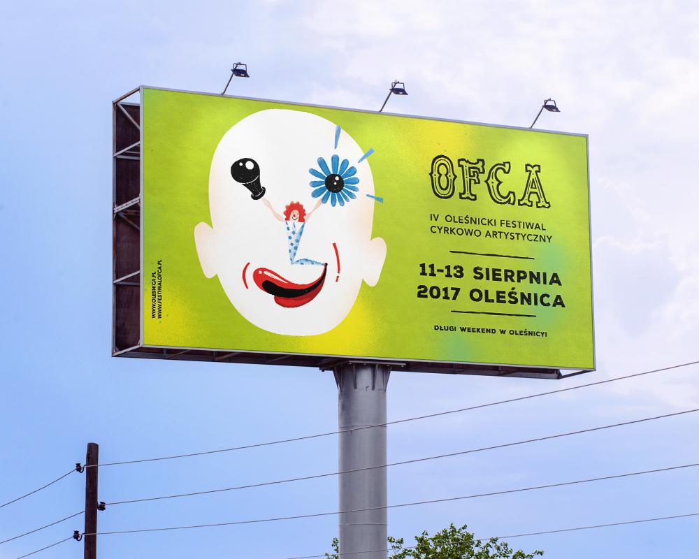 Circus art festival Fun poster ILLUSTRATION  branding  artists wacom color